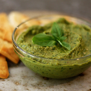 Dried Basil Pesto