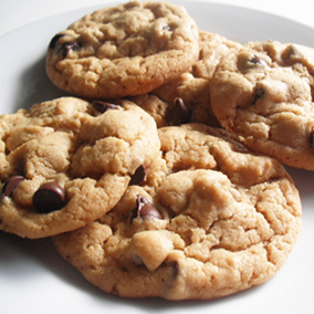 Purely Decadent Chocolate Chip Cookies