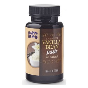 Happy Home Vanilla Paste - 4 fl oz Bottle