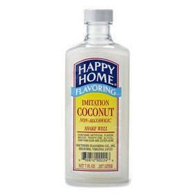 Happy Home Imitation Coconut Flavor - 7 fl oz Bottle