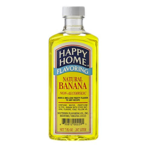 Happy Home Natural Banana Flavor