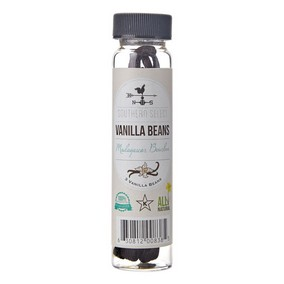Happy Home Baker's Select Vanilla Beans - 3 Bean Bottle