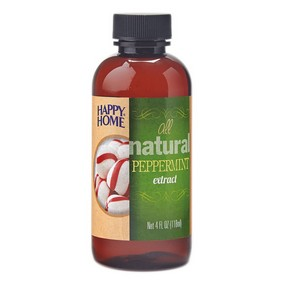 Pure Peppermint Extract - 4 fl oz Bottle