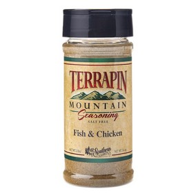 Terrapin Mountain Fish & Chicken Seasoning Blend - 2 oz