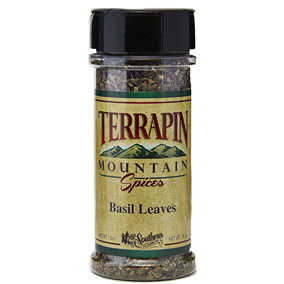 Terrapin Mountain Basil Leaves - 1 oz - 1 oz Bottle