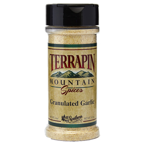 Terrapin Mountain Granulated Garlic - 3.6 oz - 3.6 oz Bottle