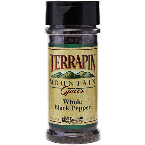 Terrapin Mountain Whole Black Pepper - 3.3 oz
