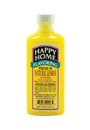 Happy Home PREMIUM Natural Lemon Flavor - 7 fl oz