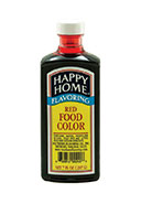 Happy Home Red Food Color - 7 fl oz
