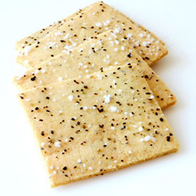 Sea Salt and Pepper Crackers