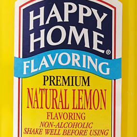 Happy Home Lemon  Flavoring