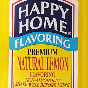 Happy Home Lemon  Flavoring