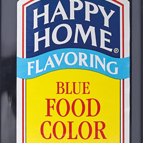 Happy Home Food Colors